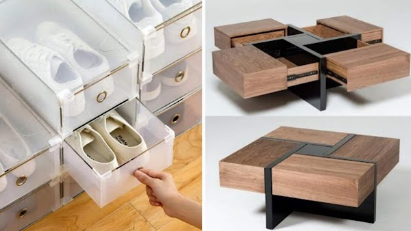 Creative Space-Saving Solution for small Rooms - INVENTION
