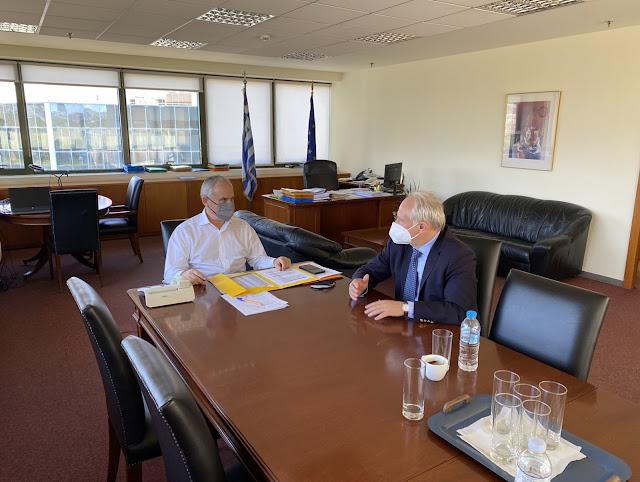 Νέα συνάντηση Ανδριανού με Ταγαρά για τα Τοπικά Πολεοδομικά Σχέδια στην Αργολίδα
