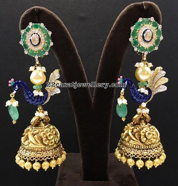 Heavy Jhumkas Colletion by PMJ