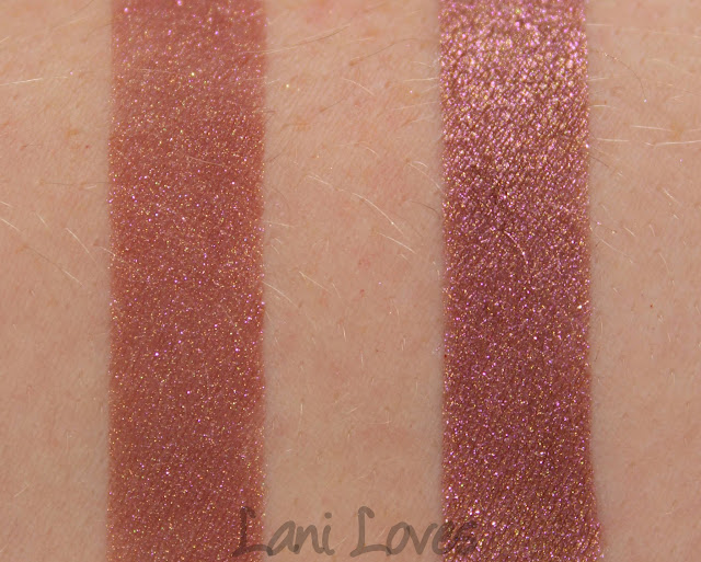 Darling Girl Prom Queen eyeshadow swatches & review