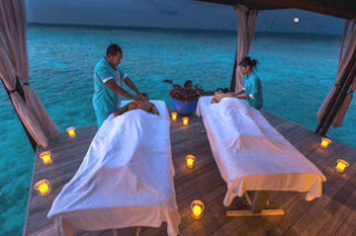maldives Romantic Massage in the Resort