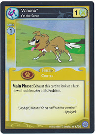 My Little Pony Winona, On the Scent Premiere CCG Card