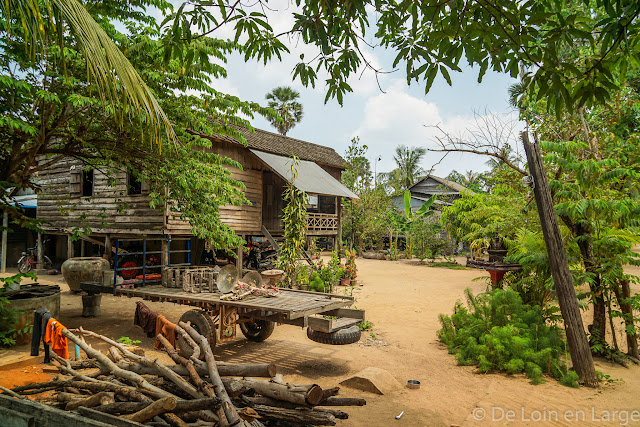 Village d'Angkor - Cambodge