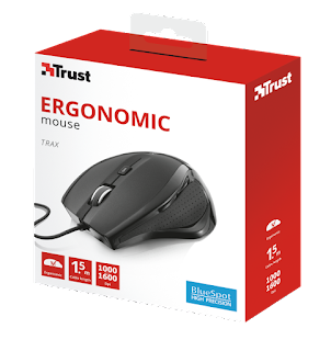 TRUST TRAX WIRED MOUSE 22931