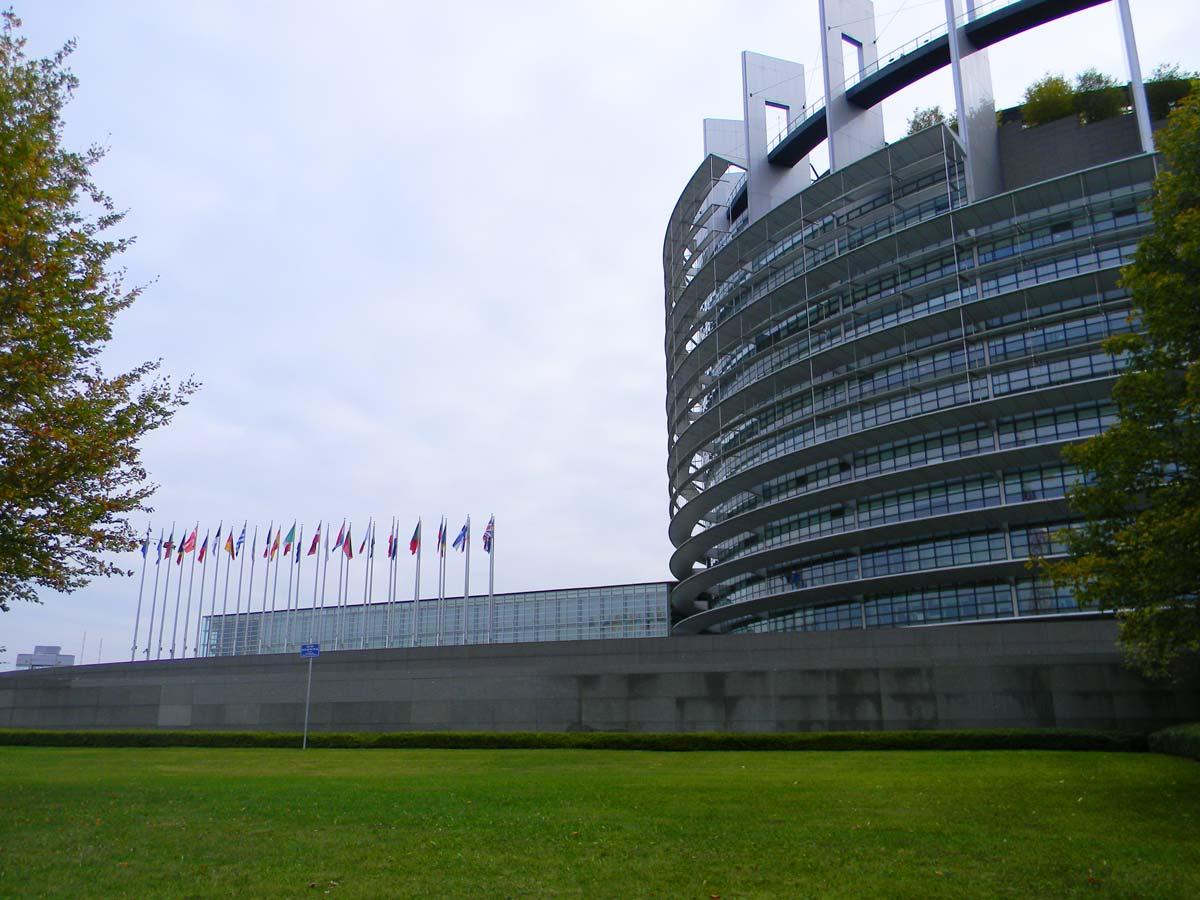 Parlement européen, Strasbourg en automne