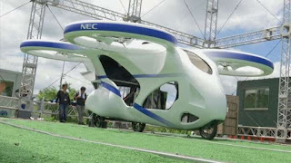 JAPAN SUCCESS FULLY TESTS FLYING CAR