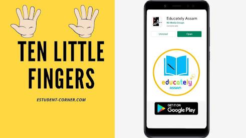 Lesson 1 | Ten Little Fingers | Class 3 | English | Questions | Answers | SCERT | ASSAM