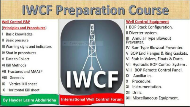 IWCF Preparation Course Principles and Procedures !!!