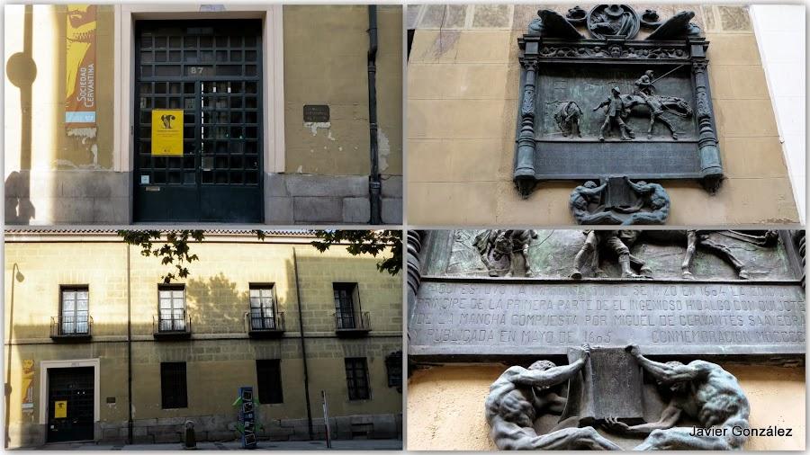 Imprenta de la primera parte del Quijote en Madrid