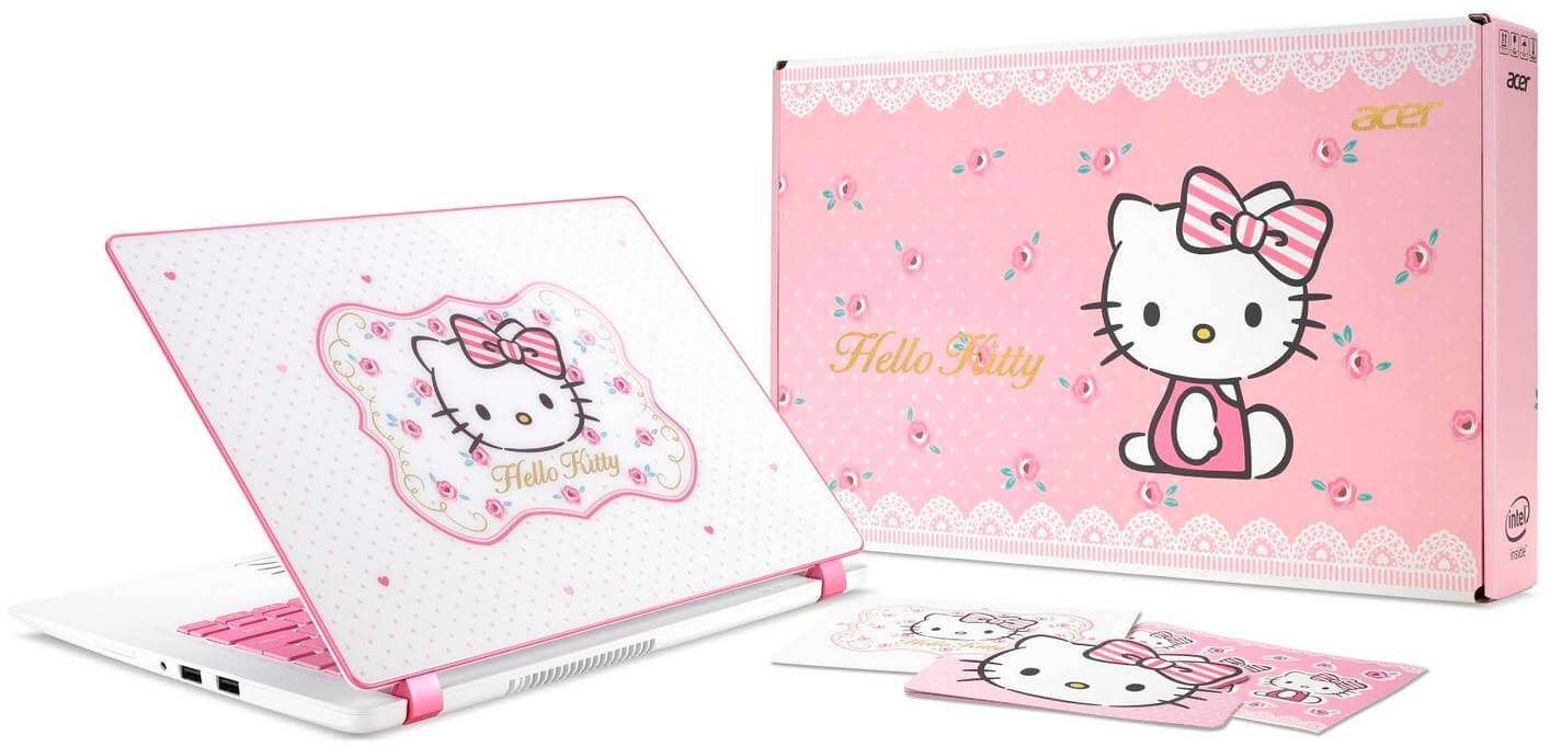 Acer Unveils Powerful Hello Kitty Limited Edition Laptop; Yours for Php45,999
