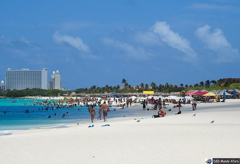 Palm Beach: Praias de Aruba, Caribe