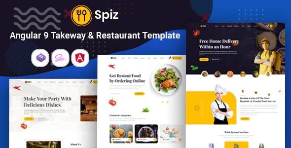Best Takeaway & Restaurant Template