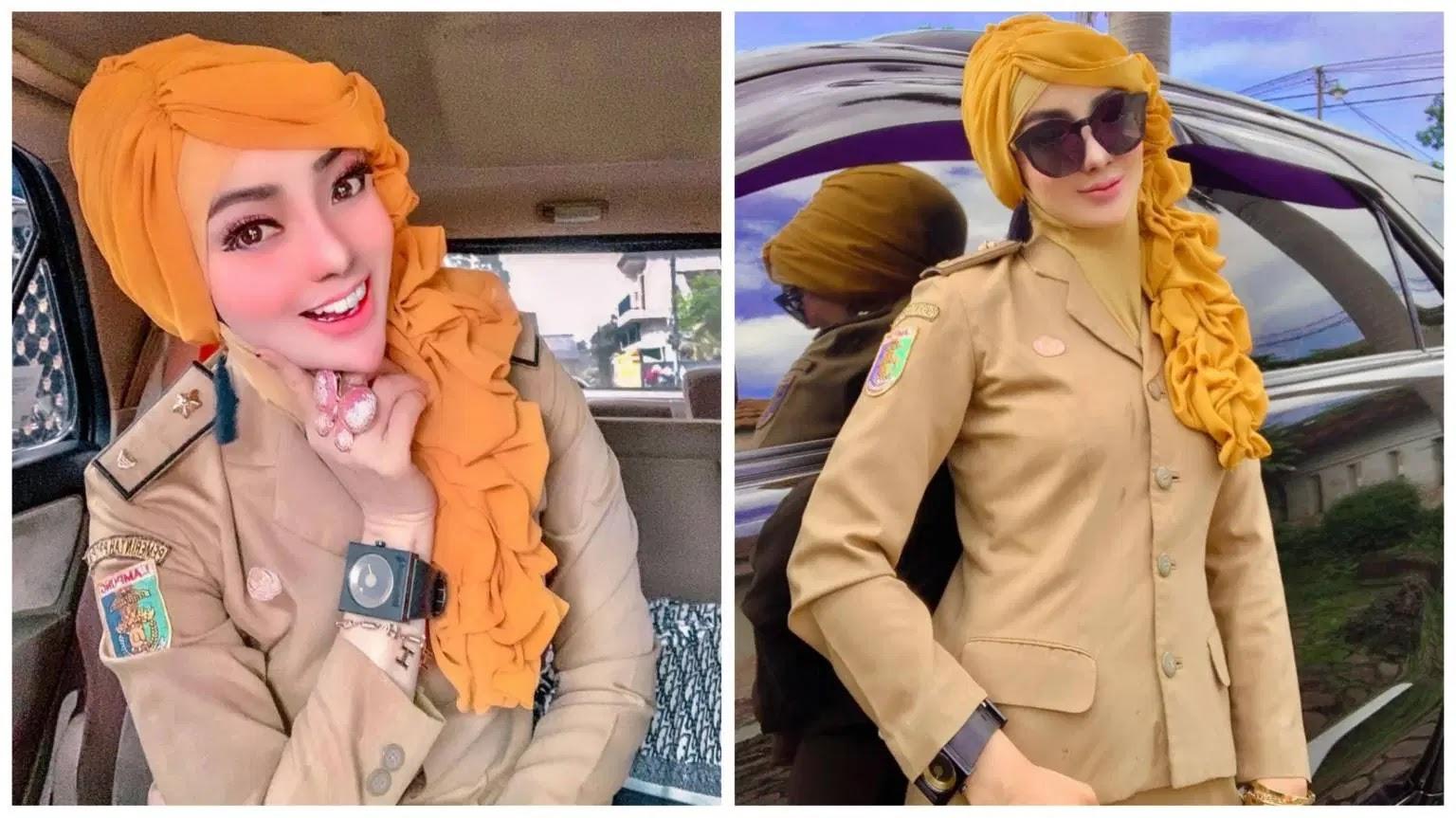 Tak Mau Ambil Pusing Meski Sempat Dihujat, Inilah ASN Barbie yang Viral Dari Lampung