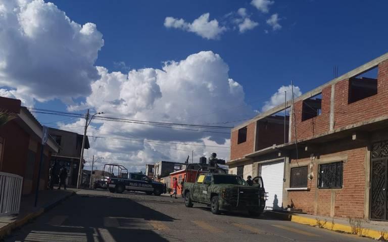 Solitario sujeto se enfrenta a Elementos del Ejército en Parral; Chihuahua y es detenido