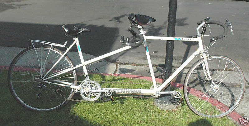 The Retrogrouch: Schwinn Duo Sport Tandem