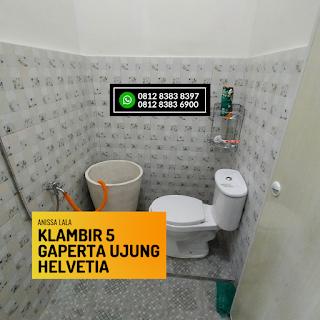 Kamar Mandi Rumah Murah Ready 2,5 Lantai Hanya 400 Jutaan Komplek Anissa Lala Klambir 5 Gaperta Ujung Helvetia Medan