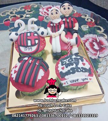 Cupcake AC Milan Untuk Suami