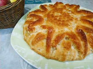 Яблочный пирог ленивый