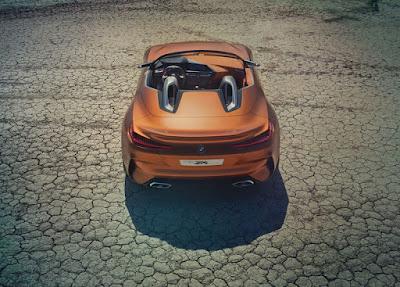 Nouveau concept 2018 BMW Z4, caractéristiques, prix, photos