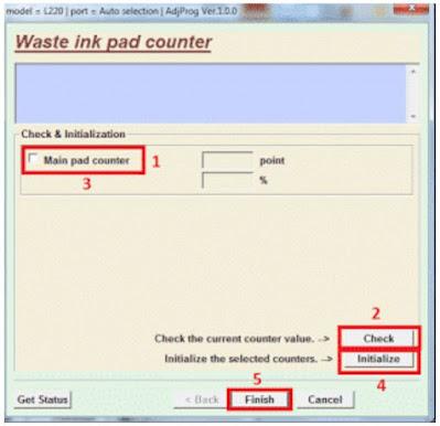 Cara Reset Printer Epson L360 dengan Mudah dan Berhasil