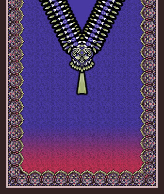 Lavanya-Geometric-Textile-Kaftan-70a