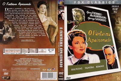 Filme O Fantasma Apaixonado (The Ghost and Mrs. Muir) DVD Capa
