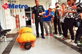 Sujud Syukur Pembantu Warden, Dibebas Dengan Jaminan Bon Mahkamah RM20 Ribu