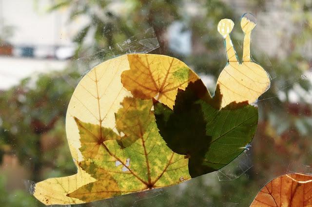 bricolage avec feuille automne