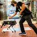 Σκύλοι ρομπότ κατά του κορωνοϊού στα εμπορικά κέντρα