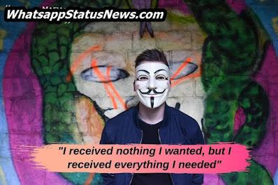 Facebook Attitude Status in English