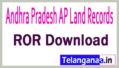 Andhra Pradesh AP Land Records 1B Download at meebhoomi