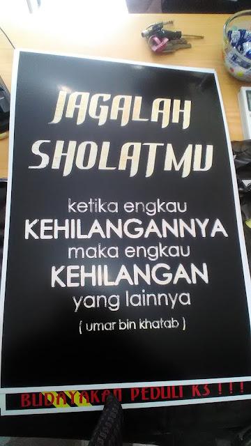 Poster Kata-kata Bijak