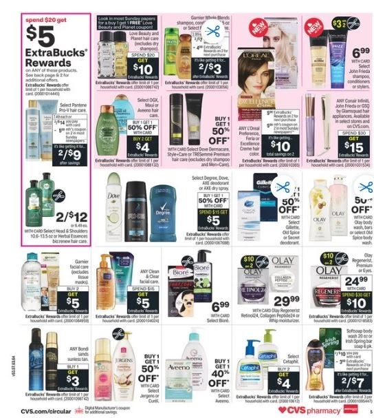 CVS Weekly Ad Preview 2-28-3-6