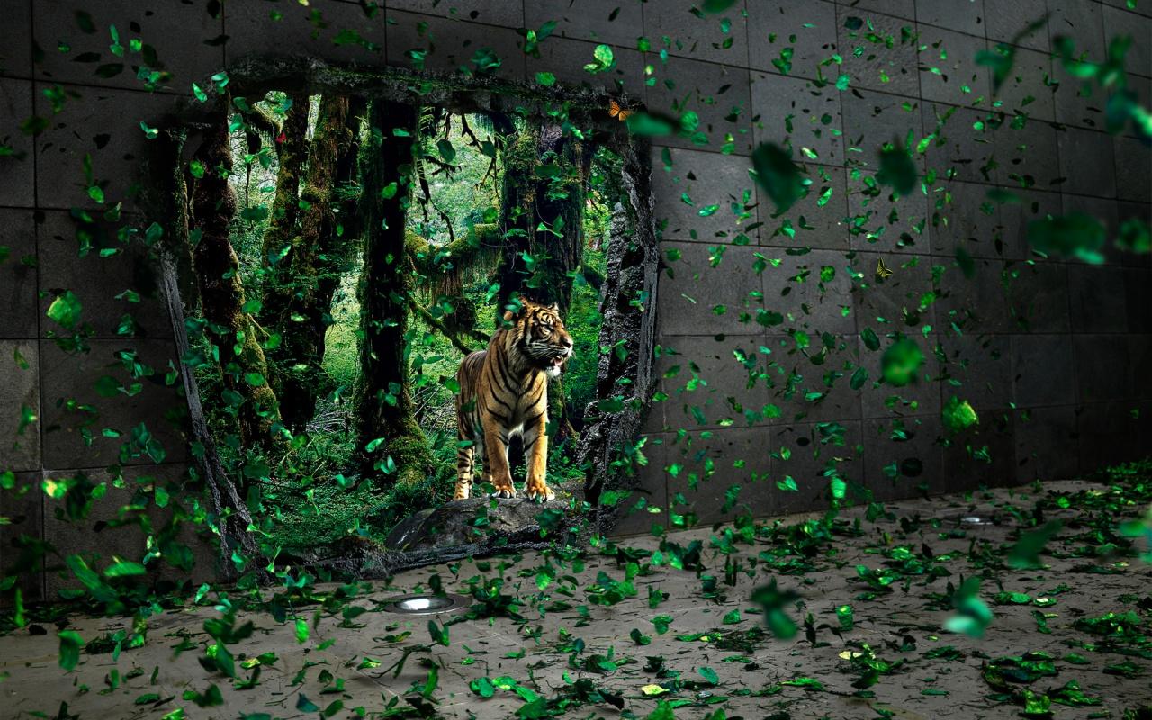 Jungle Wallpaper Desktop: Wallpaper: Jungle Wallpaper
