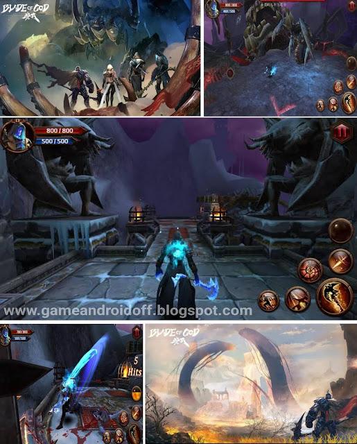 Blade of God 2gb Action Hack n Slash telah rilis Resmi English version 21 mei 2020 game offline android HD
