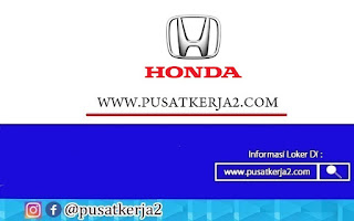 Lowongan Kerja SMK PT Honda Prospect Motor Desember 2020