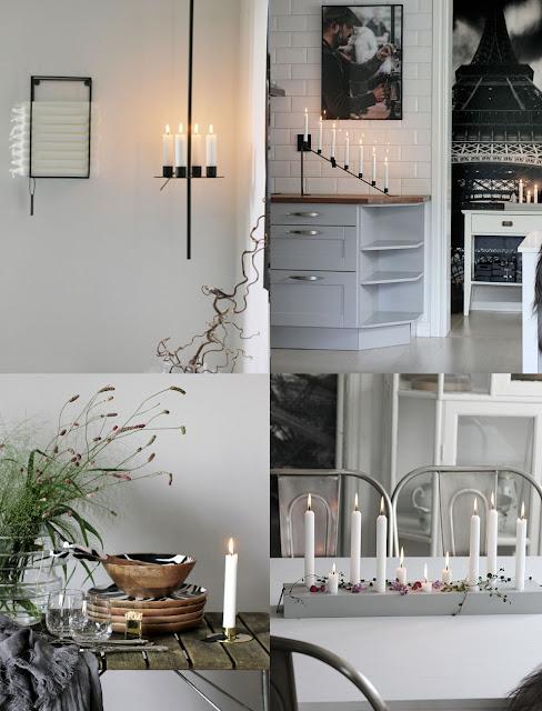 annelies design, webbutik, webbutiker, webshop, nätbutik, inredning, dekoration, kök, köket, ljusstake, ljusstakar, väggljusstake, ljusförvaring