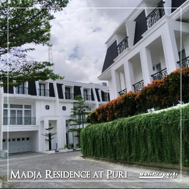 rumah dijual di madja residence