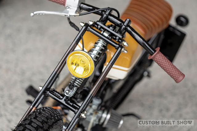 Honda Supercub By Clav Custom Hell Kustom