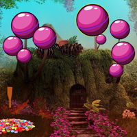Games2rule Fantasy Candy Forest Escape