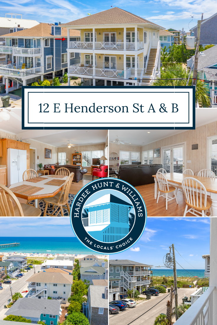 Henderson Street Duplex Now Available for Sale at Wrightsville Beach