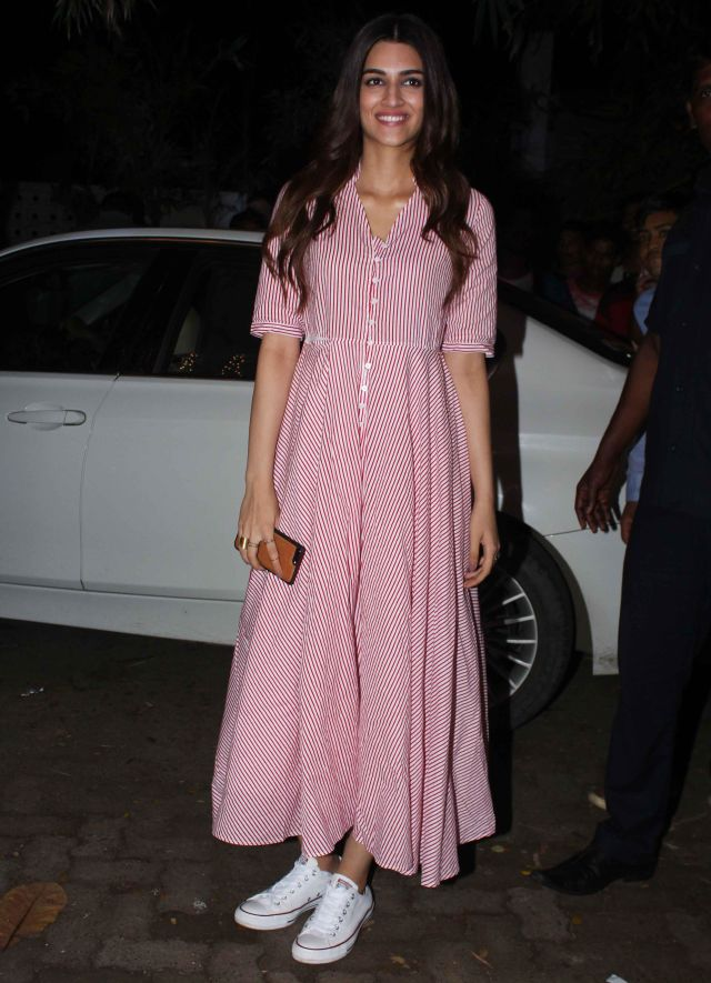 Kriti Sanon At Toilet Ek Prem Katha Film Special Screening