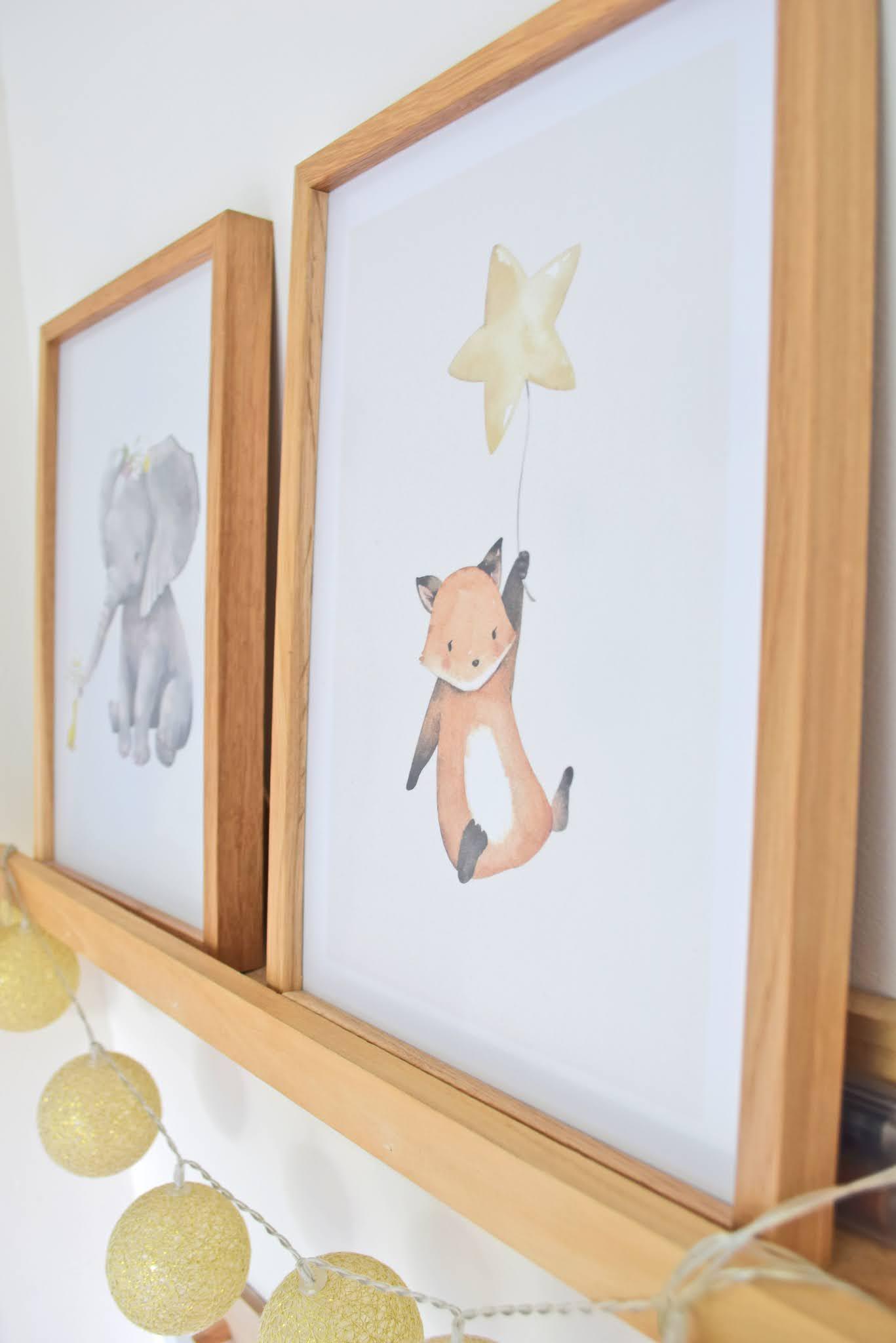 plakaty do pokoju dziecka boho
