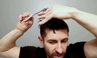 cut hair men