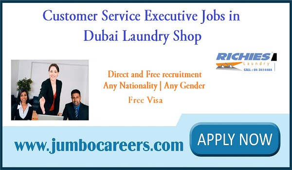 Dubai customer care jobs for Indians, Urgent Dubai jobs with free visa,