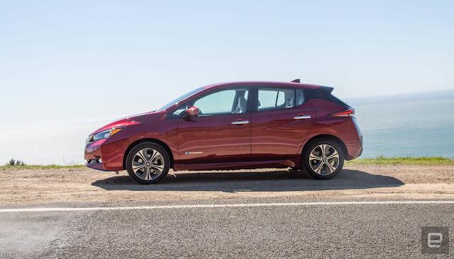 Harga Mobil Terbaru dan Terlengkap Nissan Leaf Plus