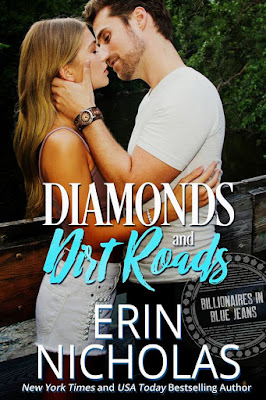 New Release: Diamonds and Dirt Roads (Billionaires in Blue Jeans #1) by Erin Nicholas + Teaser and Excerpt | About That Story
