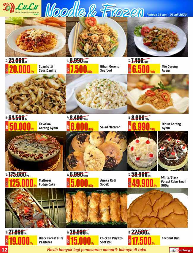 Katalog Promo LULU Supermarket 25 Juni - 8 Juli 2020 12