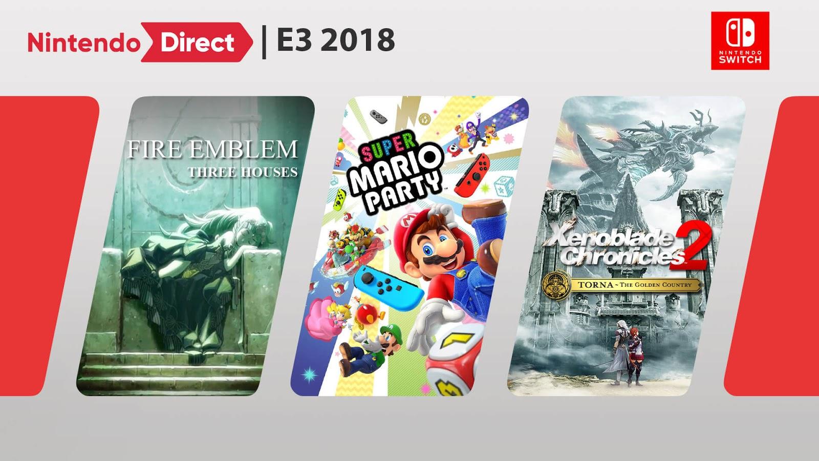 Nintendo Direct E3 2018 - Gameslaught
