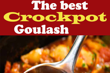 The Best Crockpot Goulash Recipe I Ever Made! #Crockpot #dinner